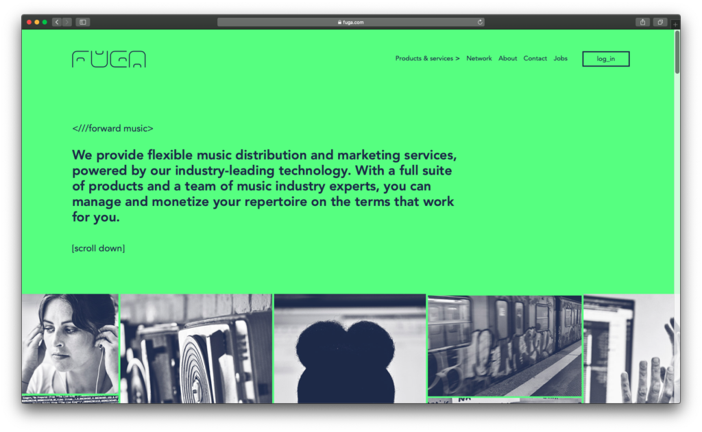 website FUGA